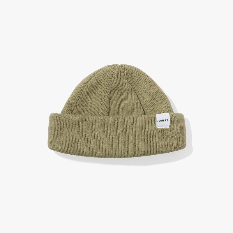 Flatholm Beanie Light Khaki