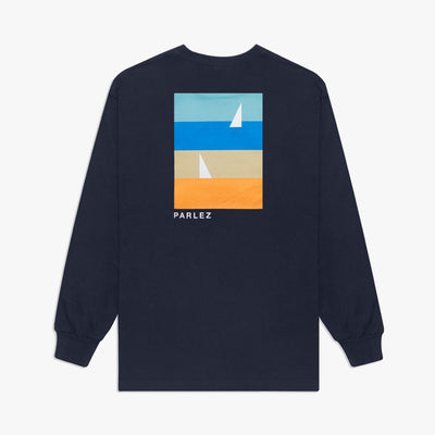 Fitts L/S T-Shirt Navy