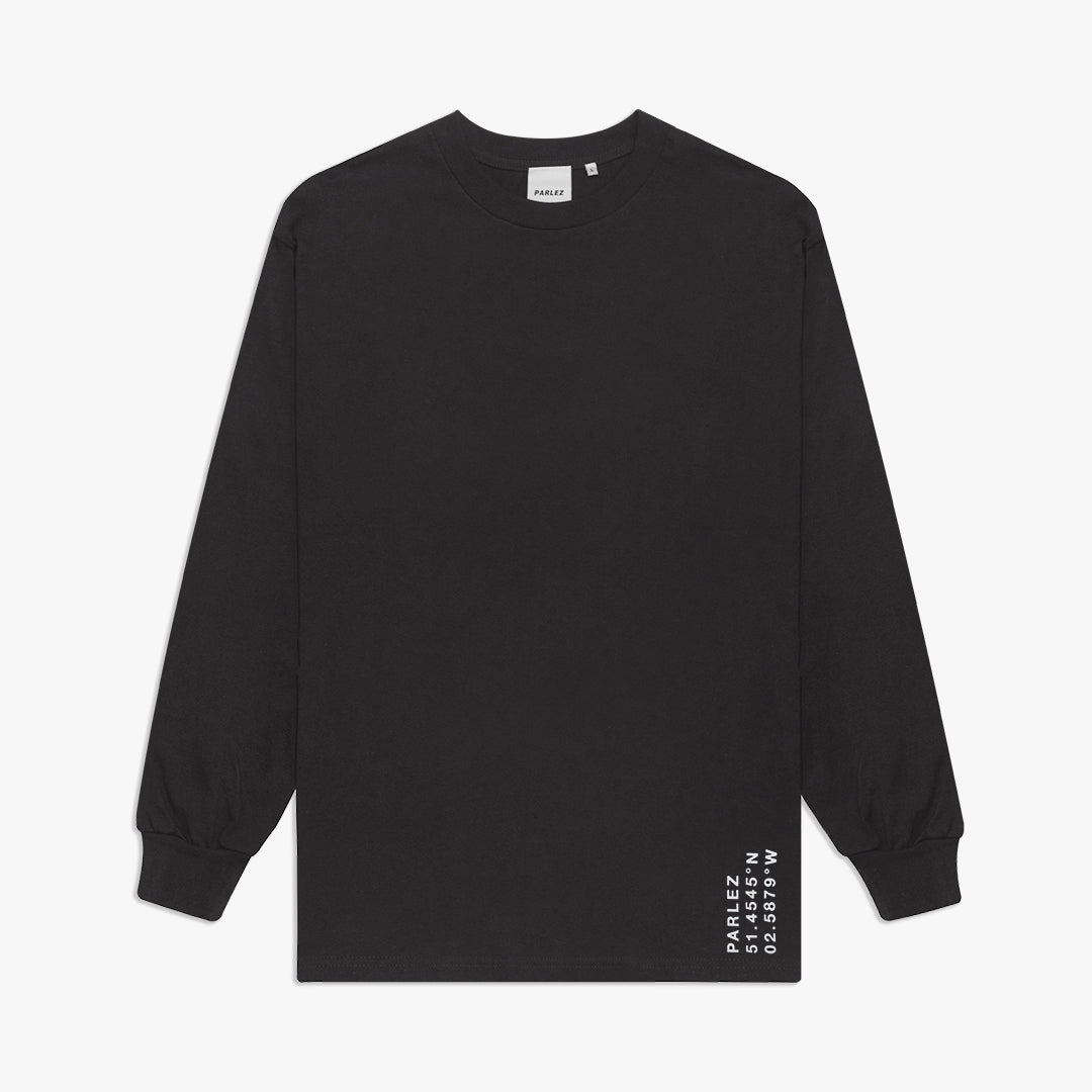 Haber L/S T-Shirt Black