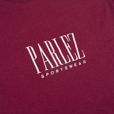 Parlez Harrington T-Shirt Burgundy