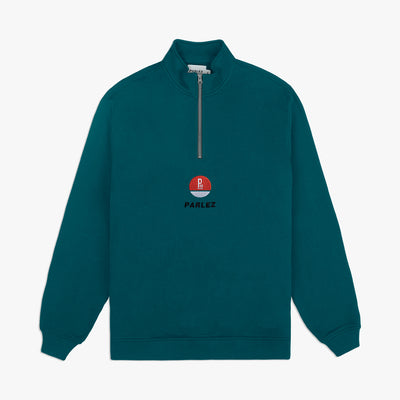 Held 1/4 Zip Teal