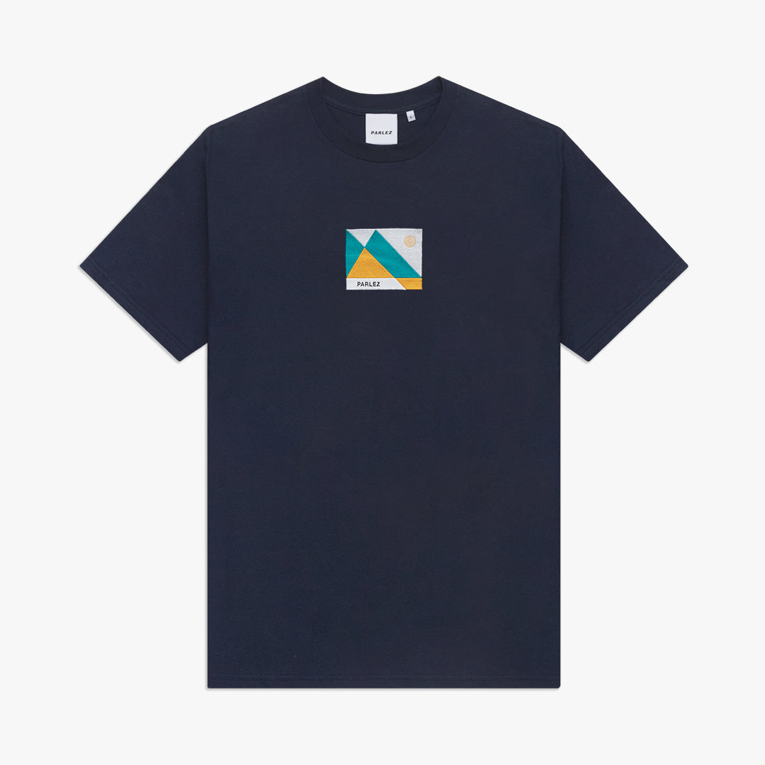 Horizon Organic T-Shirt Navy