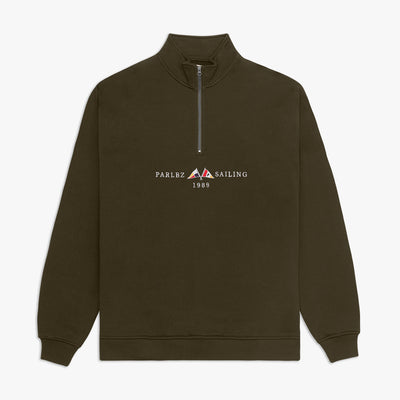 Jetty 1/4 Zip Khaki