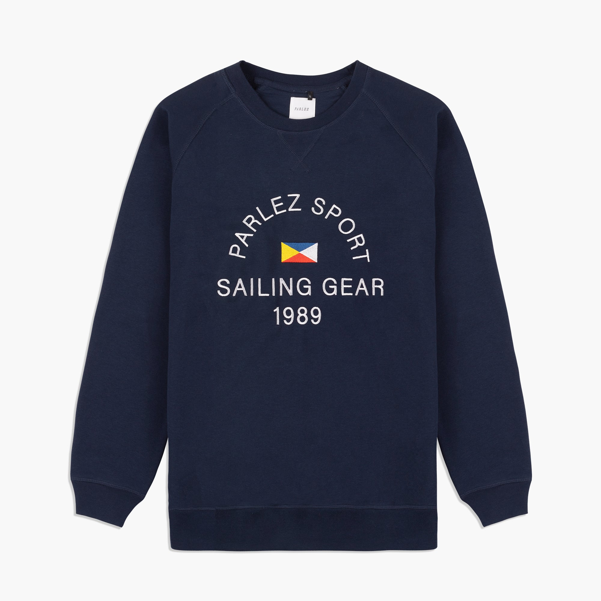 Parlez Klipper Crew Sweat Navy