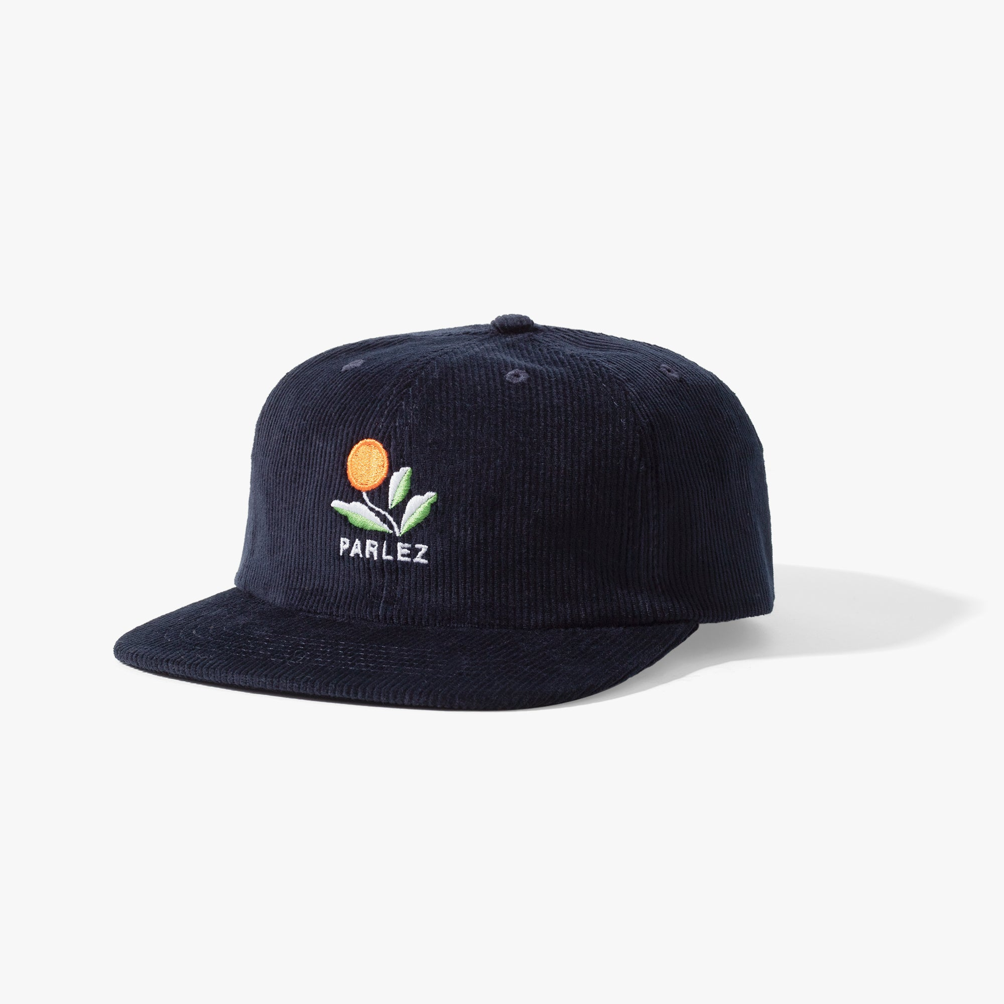 Kojo Cord 6 Panel Cap Navy