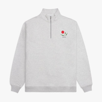 Kojo 1/4 Zip Heather