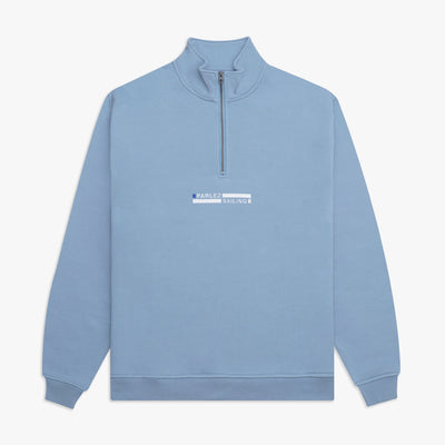 Konsort Quarter Zip Dusty Blue