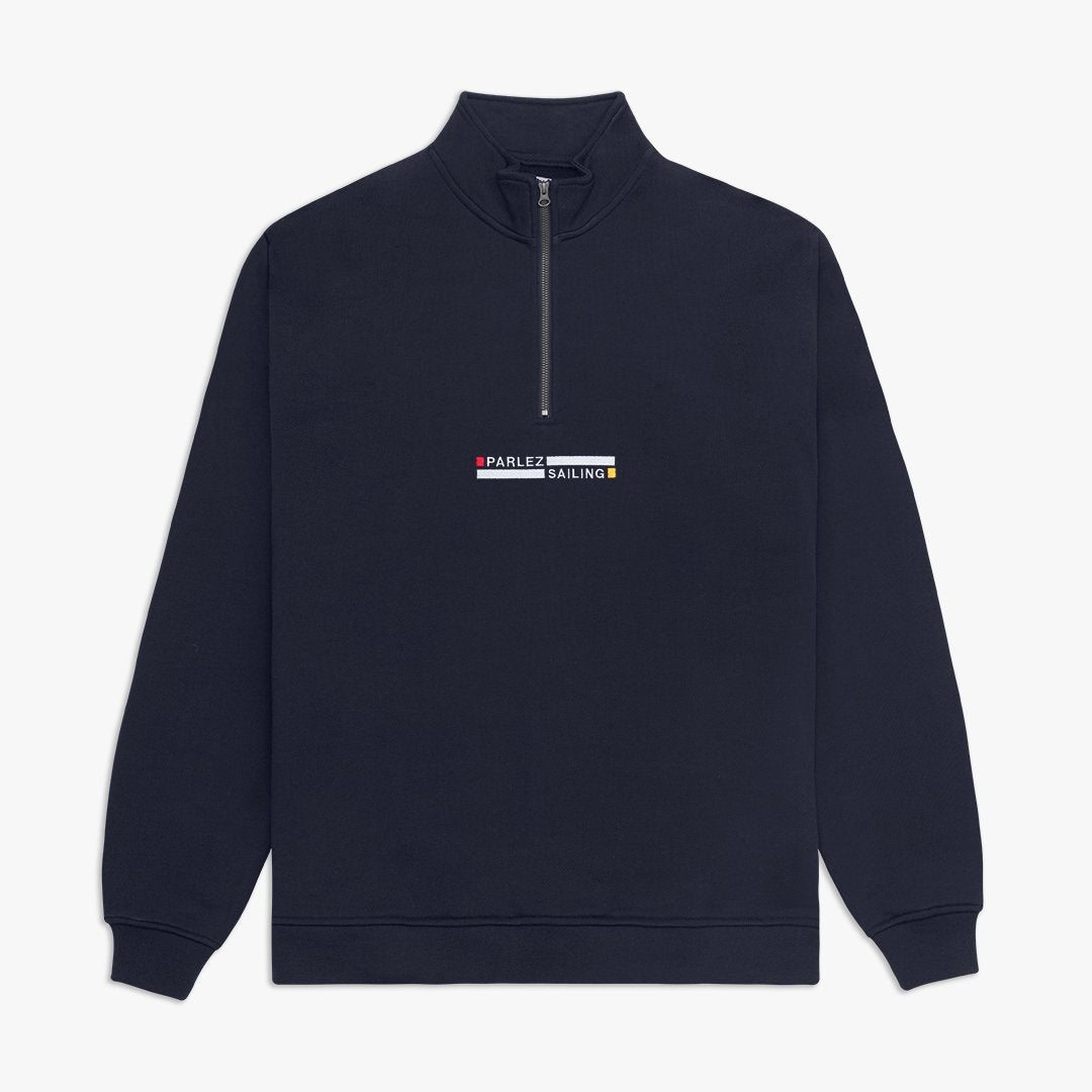 Konsort Quarter Zip Navy