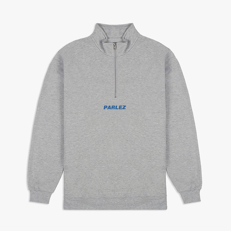 Ladsun 1/4 Zip Heather Grey