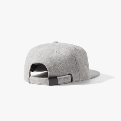 Ladsun Wool 6 Panel Cap Heather