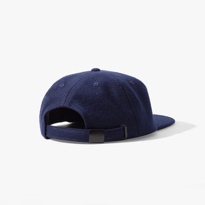 Ladsun Wool 6 Panel Cap Navy