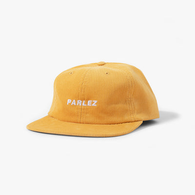 Ladsun 6 Panel Cord Cap Yellow