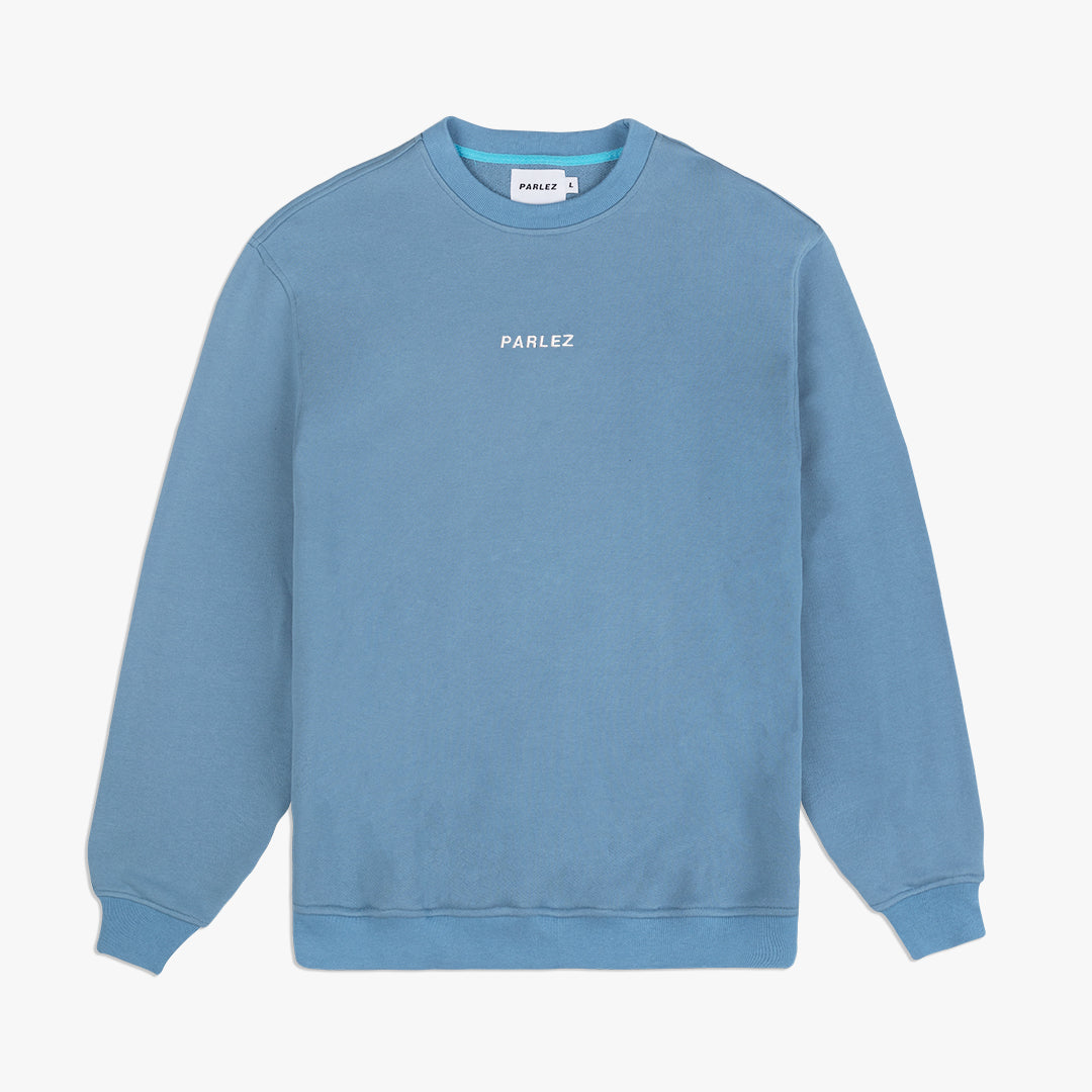 D.N.U Ladsun Crew Sweatshirt Dusty Blue