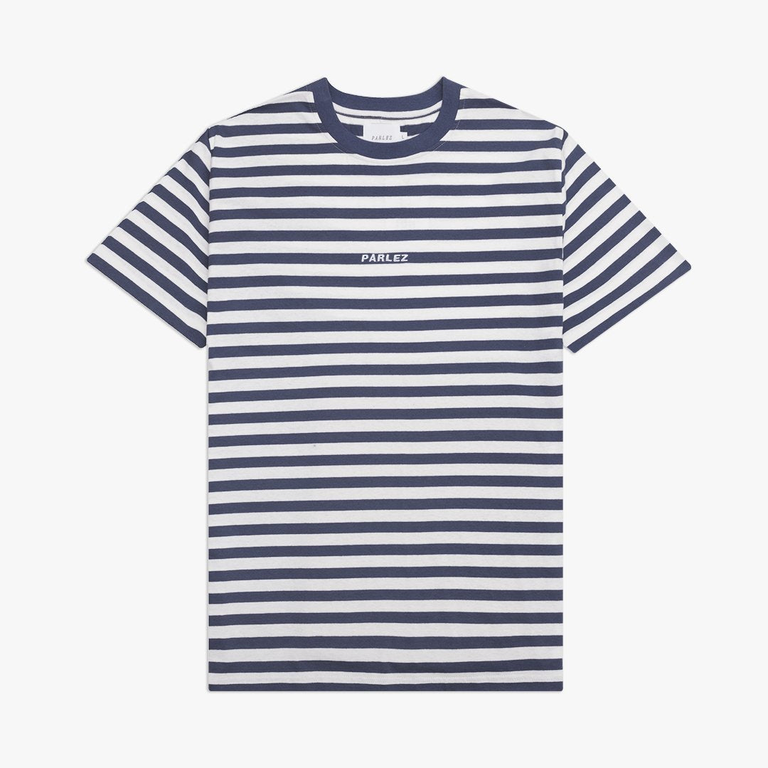 Ladsun Heavy Stripe T-Shirt Navy