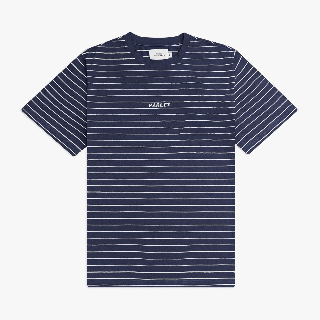 Ladsun Thin Stripe T-Shirt Navy
