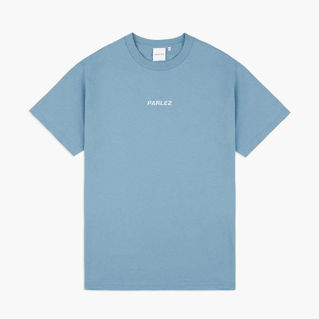 Ladsun T-Shirt Slate Blue | White