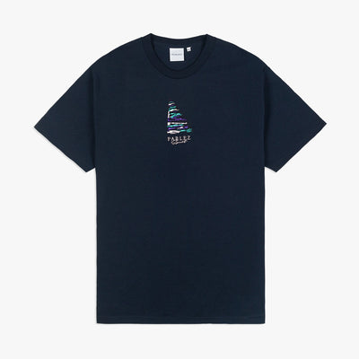 Manhoff T-Shirt Navy