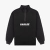 Parlez Harbour Quarter-Zip Black