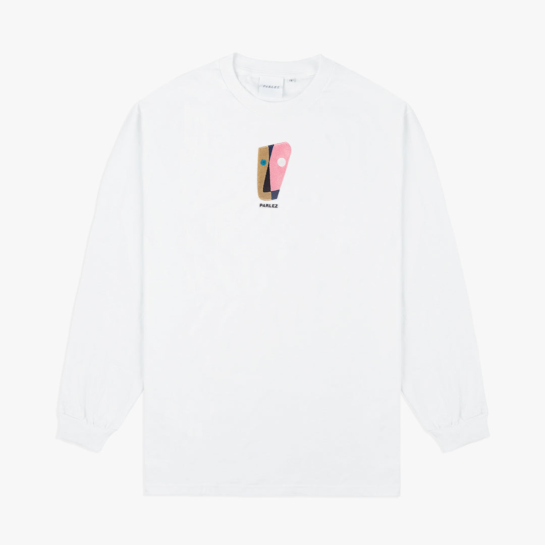 Painter L/S T-Shirt White