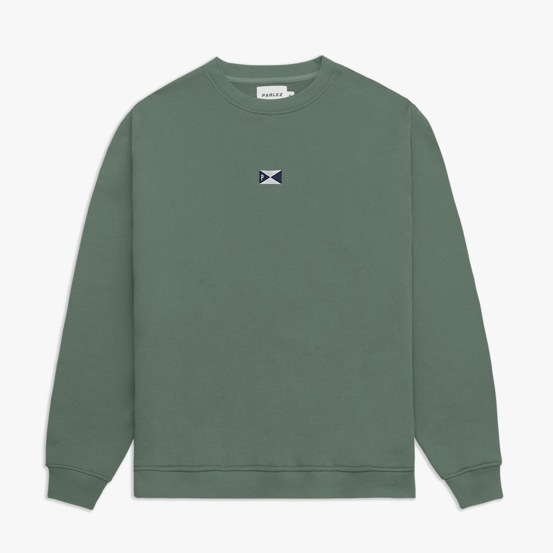 Pennant Sweatshirt Light Khaki