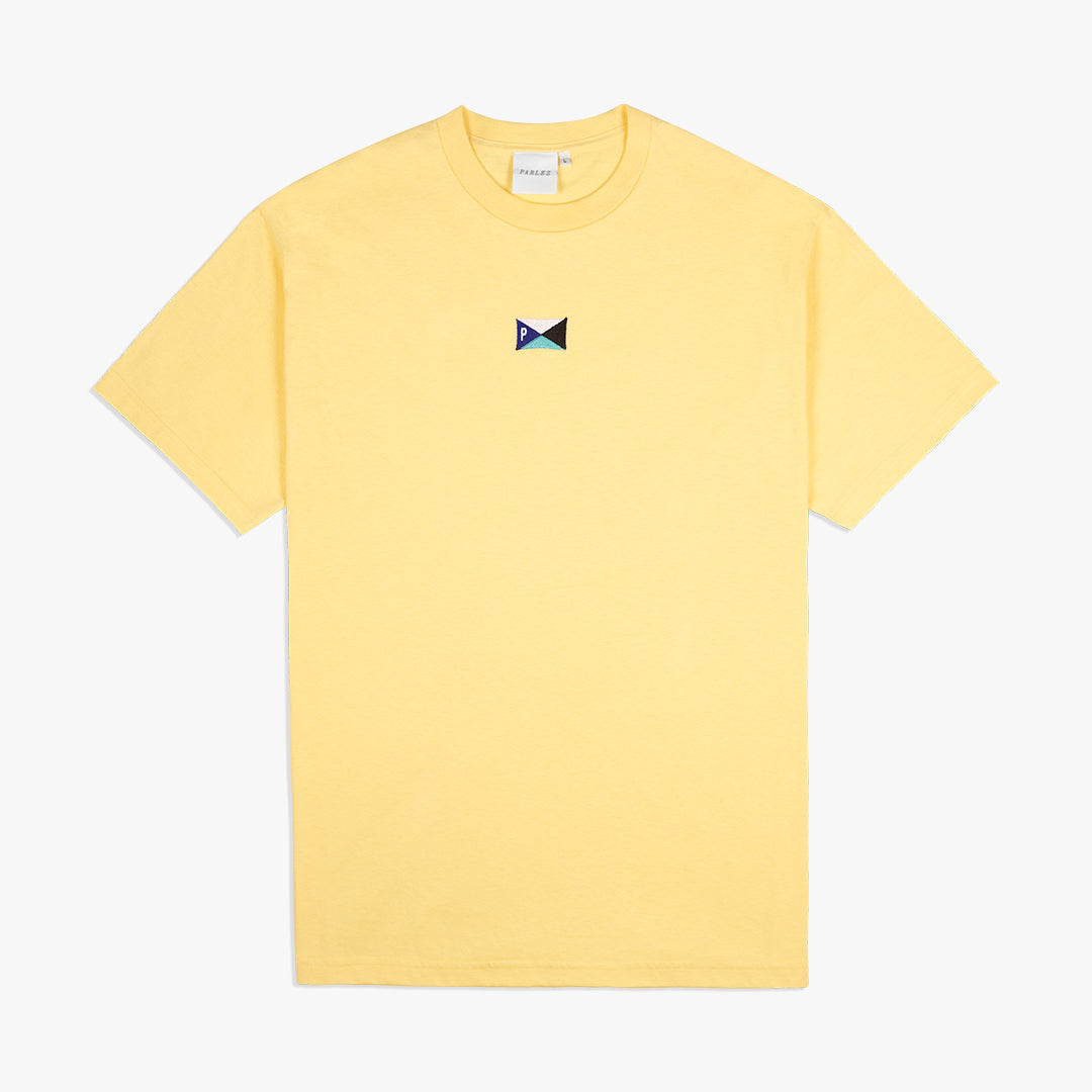 Pennant T-Shirt Yellow | Teal