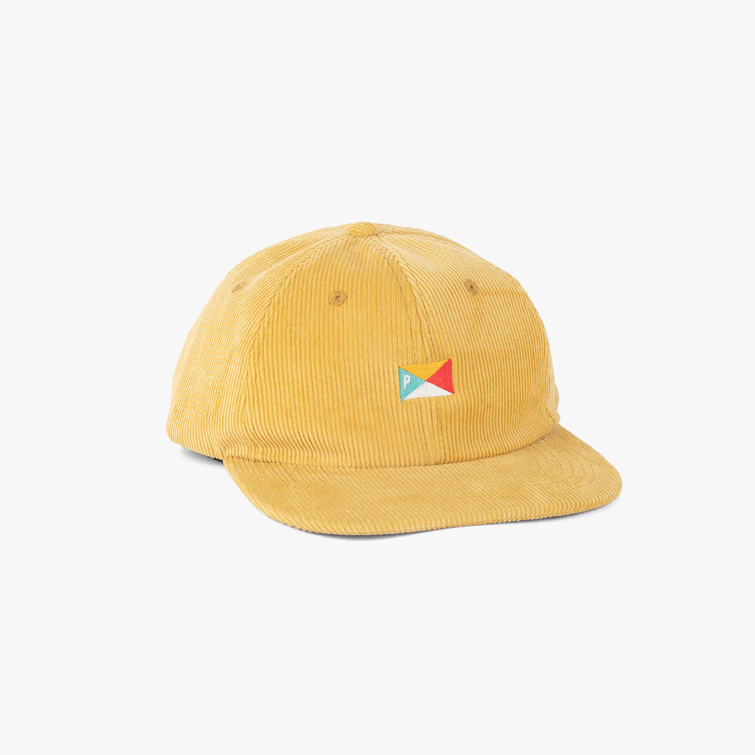 Pennant 6 Panel Cap Yellow