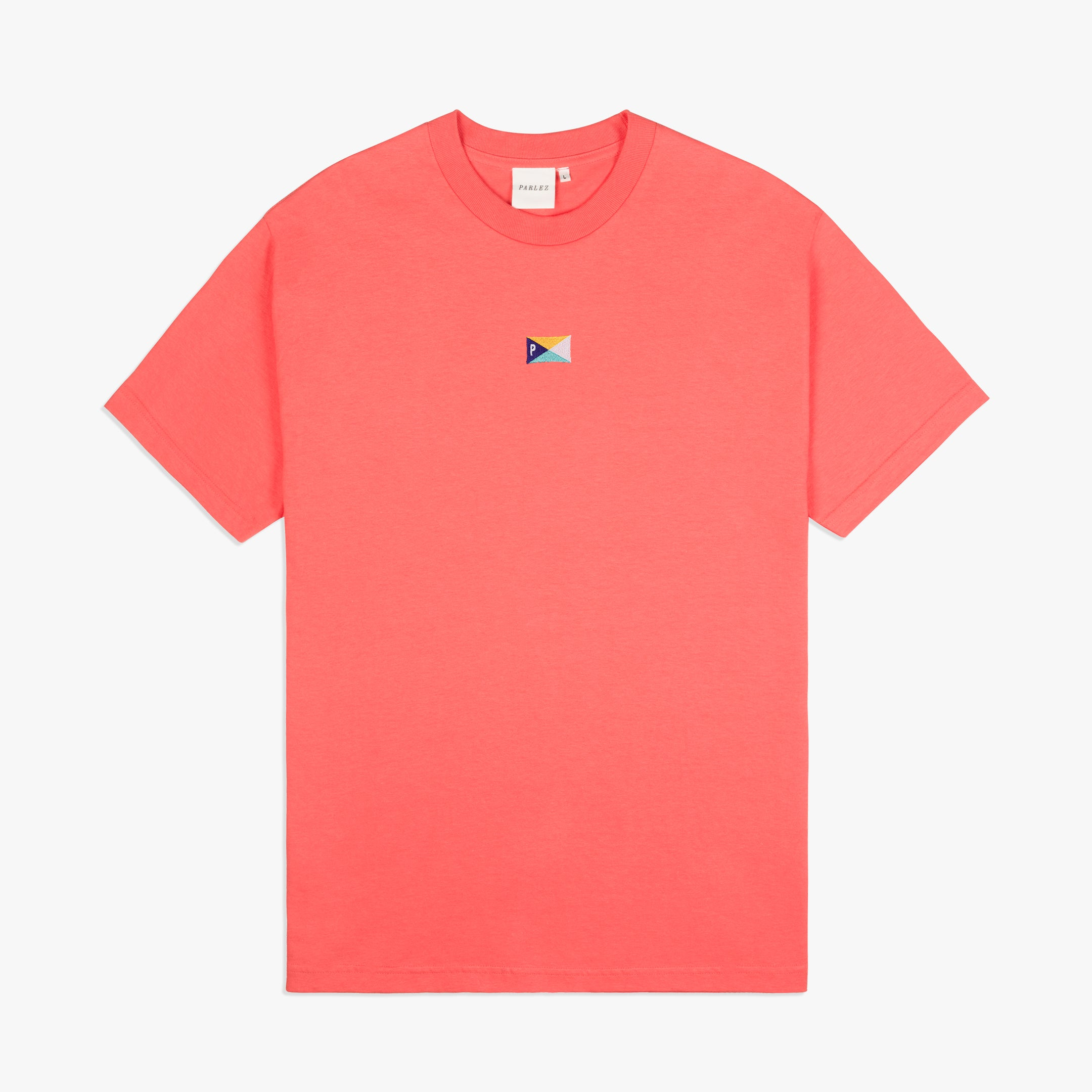 Pennant T Shirt Coral