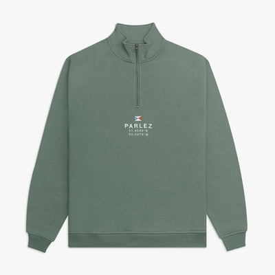 Prospect Quarter Zip Light Khaki