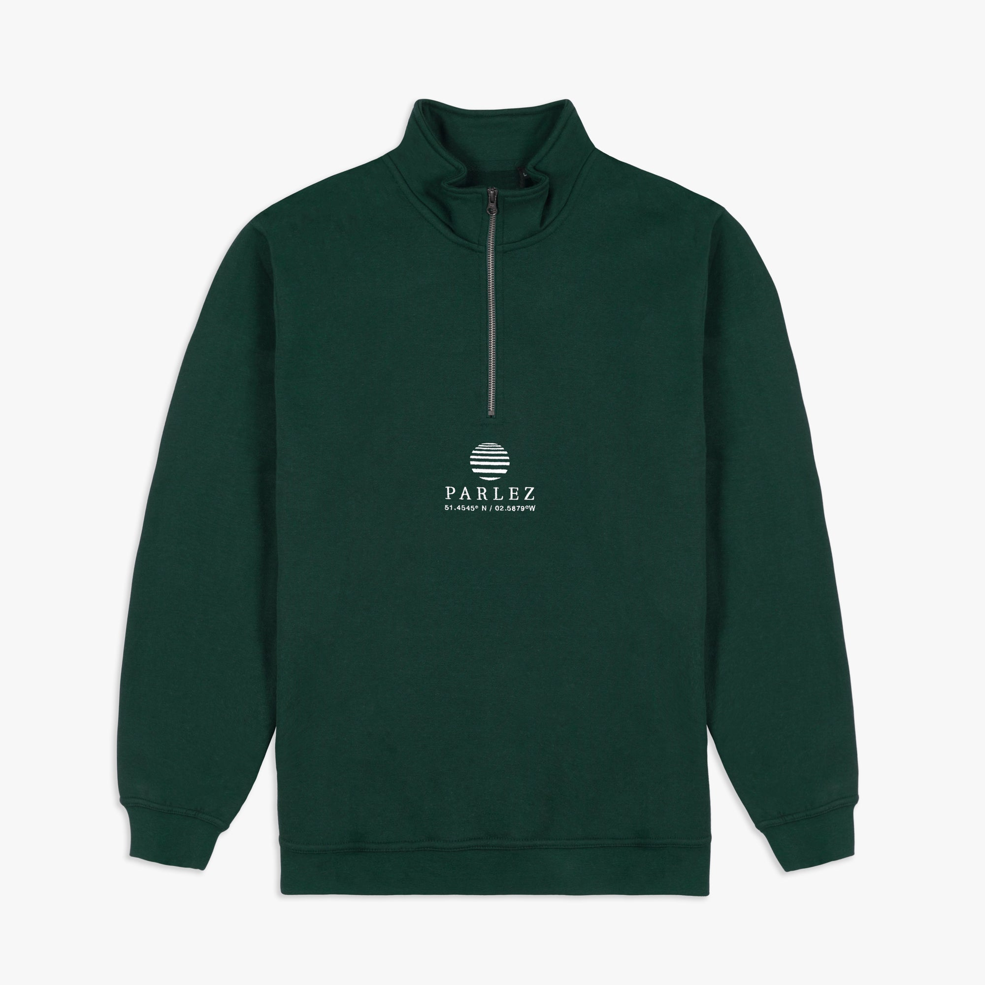 Purcel 1/4 Zip Forest
