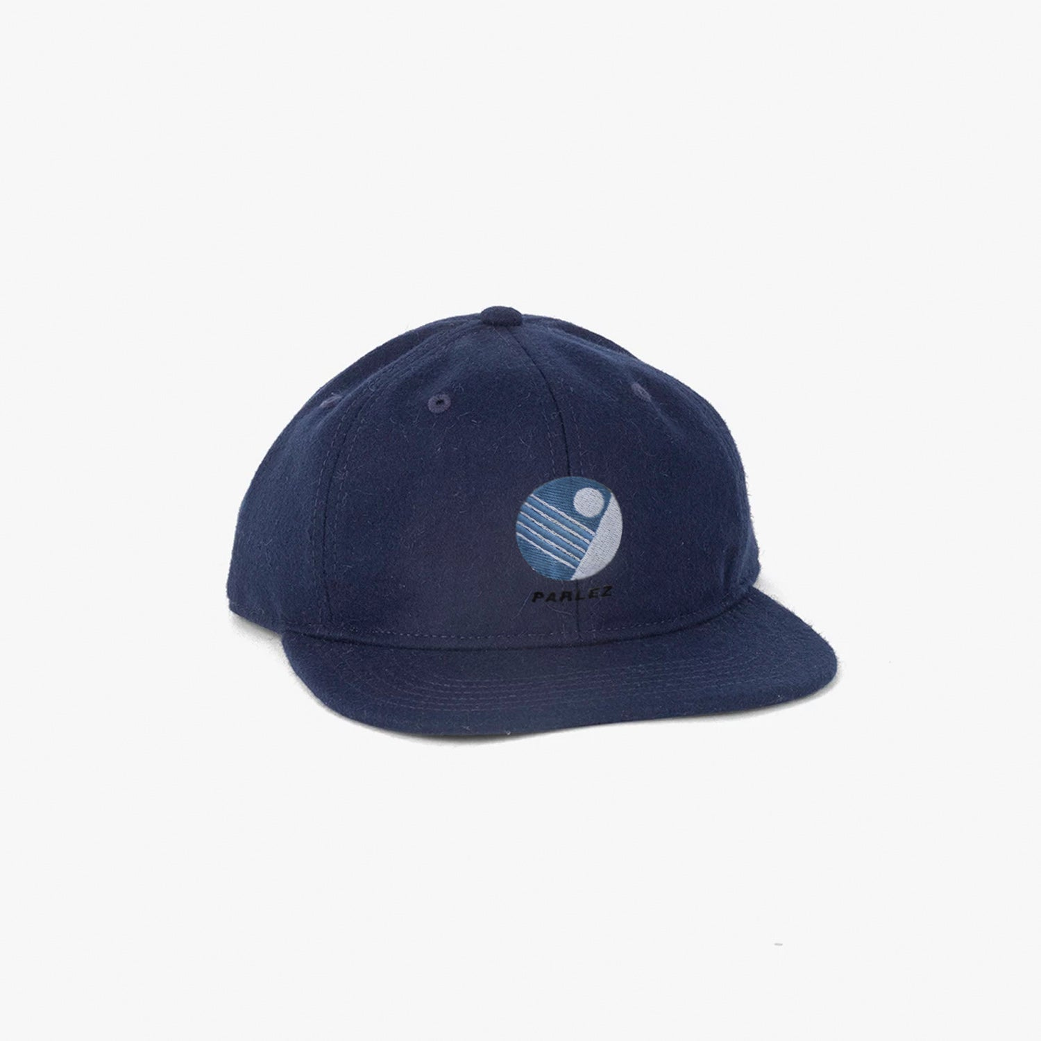 Parlez x Jingo Wool 6 Panel - Navy
