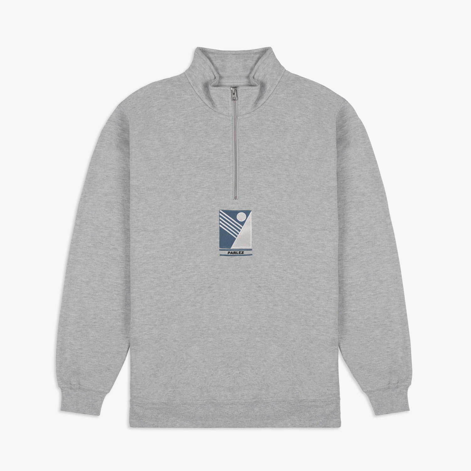 Parlez x Jingo 1/4 Zip - Heather