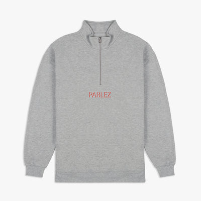 Shadow Quarter-Zip Heather