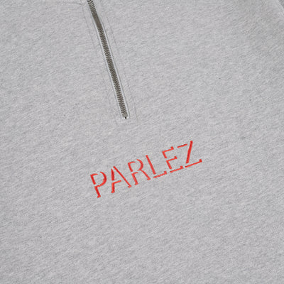 Parlez Shadow Quarter-Zip Heather