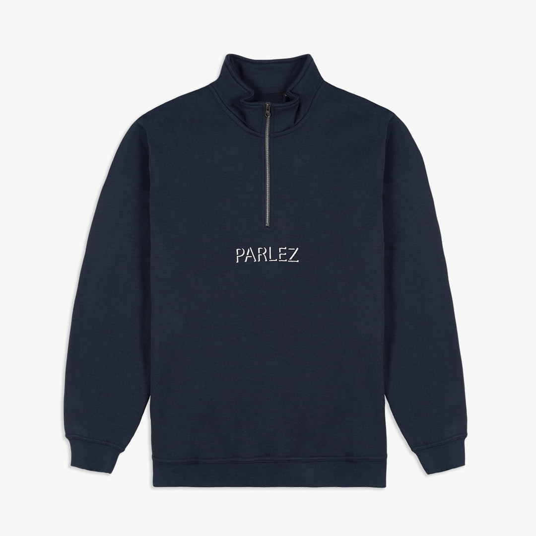 Parlez Shadow Quarter-Zip Navy