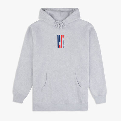 Parlez Sinclair Hooded Top Heather