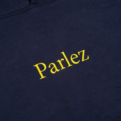 Parlez Skutsje Hooded Top Navy