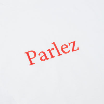 Parlez Skutsje Long Sleeve T-Shirt White