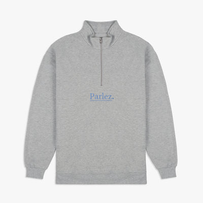 Parlez Maris 1/4 Zip Grey