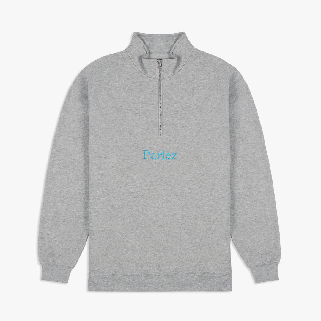 Skutsje Quarter-Zip Heather