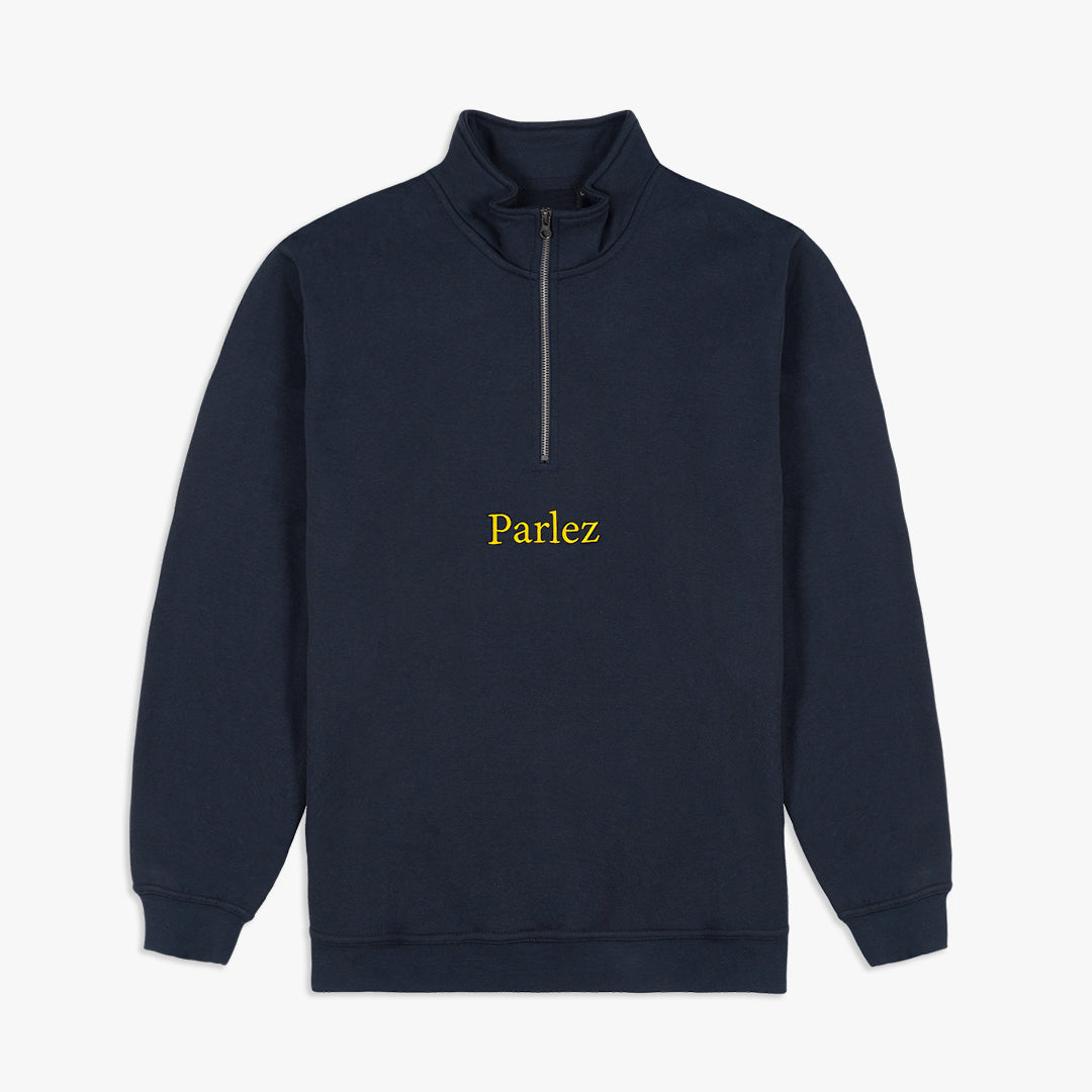 Skutsje Quarter-Zip Navy
