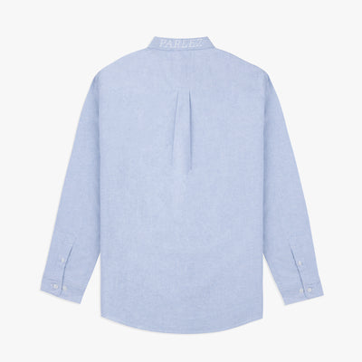 Parlez Sloop Long Sleeve Shirt Light Oxford