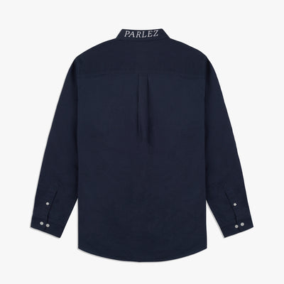 Parlez Sloop Long Sleeve Shirt Navy