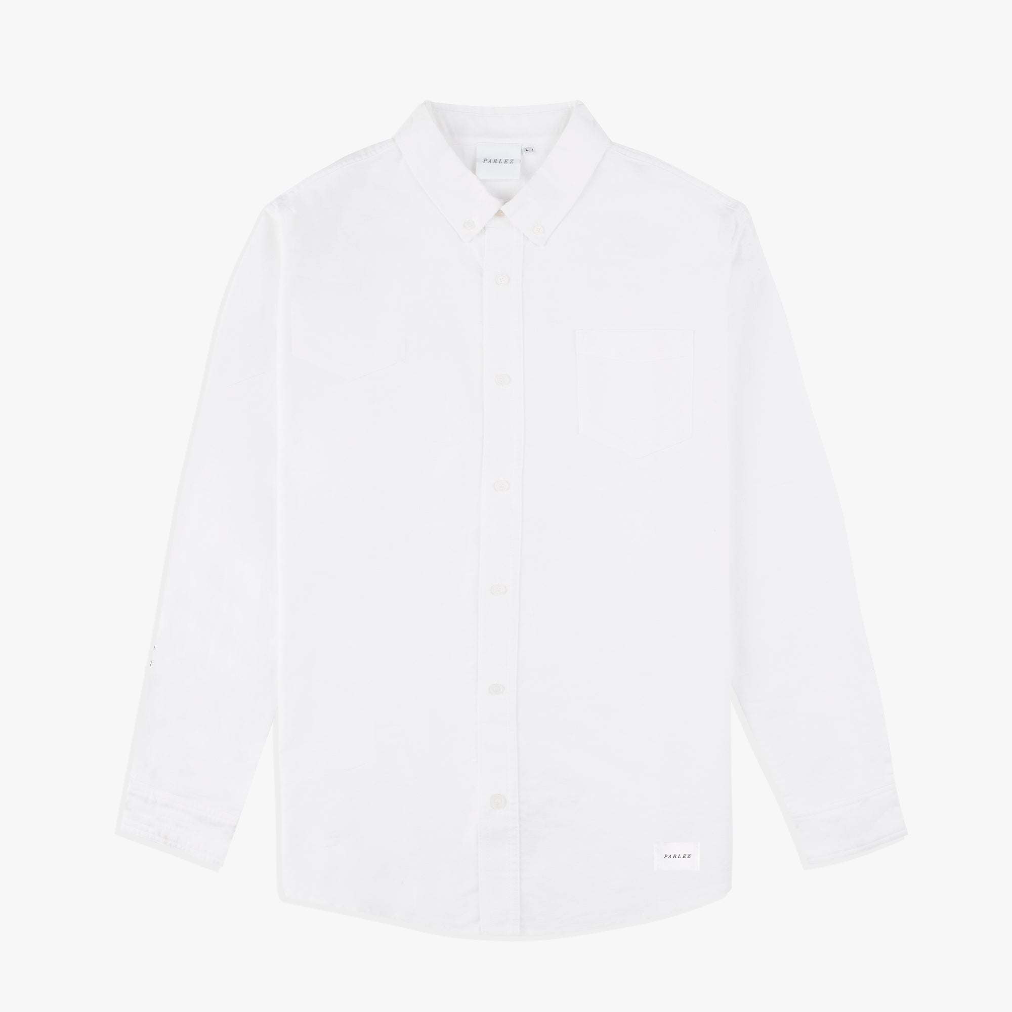 Parlez Sloop Long Sleeve Shirt White