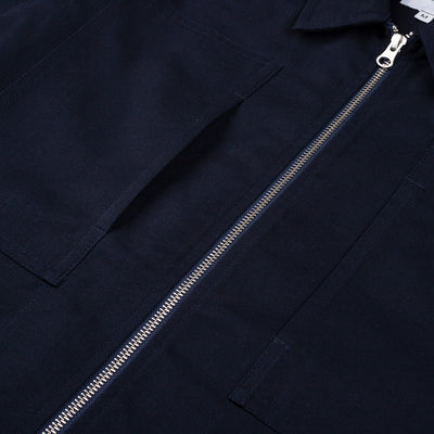 Sparkman Zip Shirt Navy