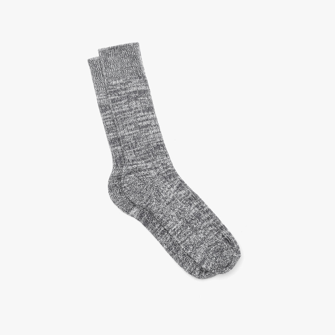 Marl Socks Black