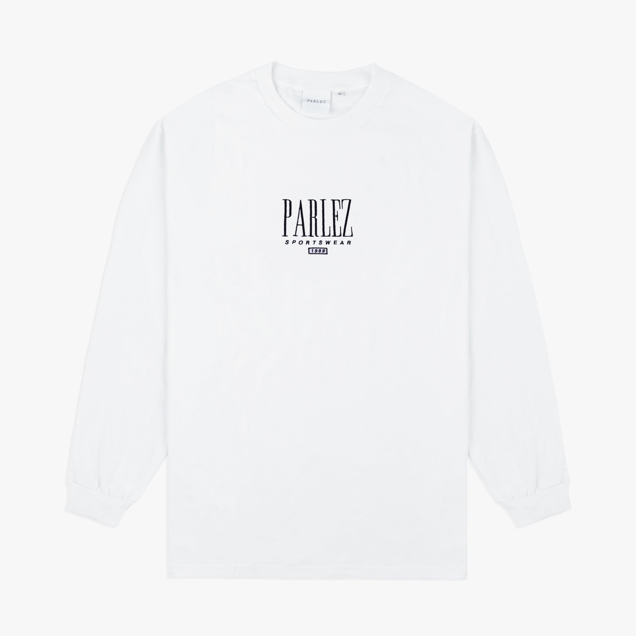 Parlez Spits Long Sleeve T-Shirt White