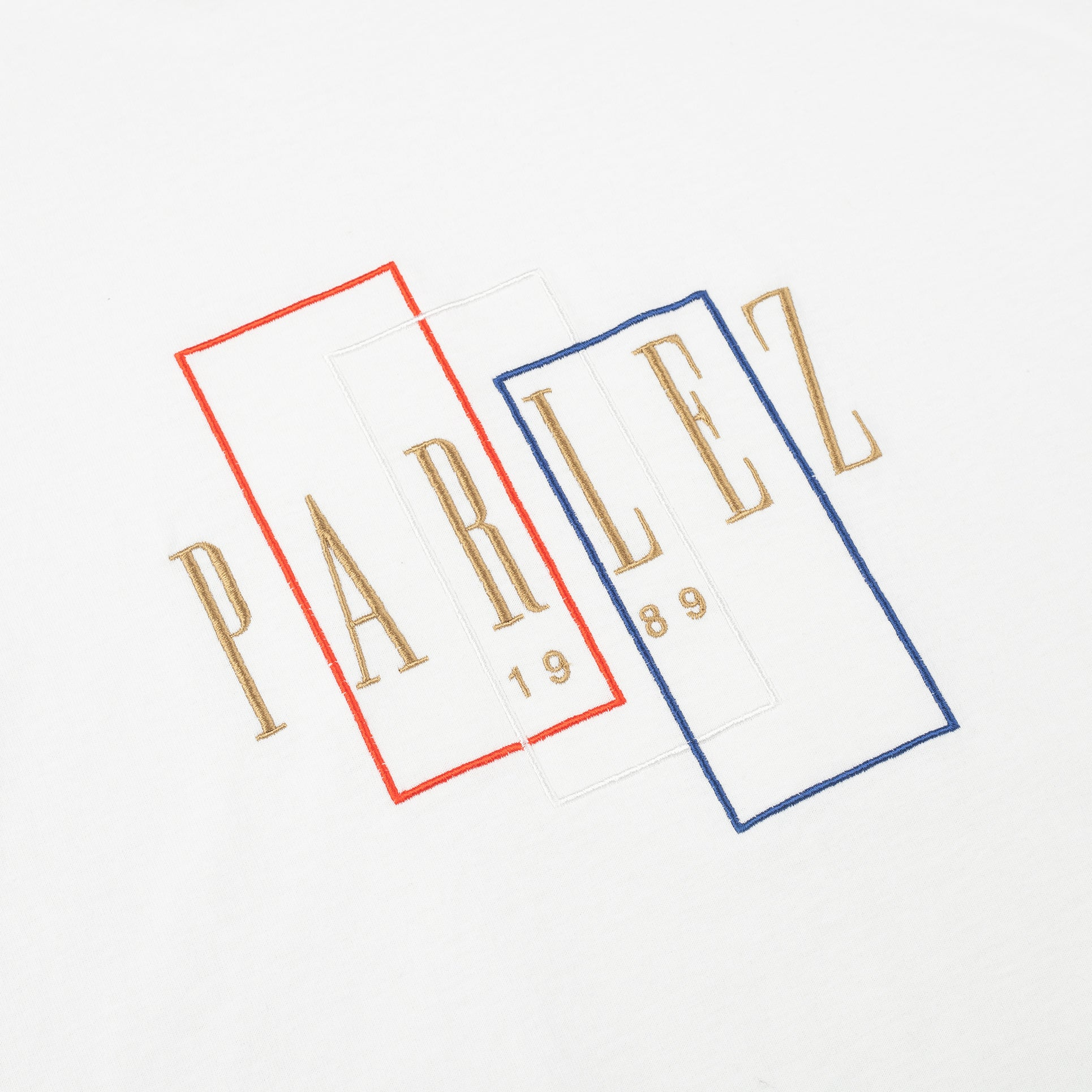 Parlez Spray T-Shirt White