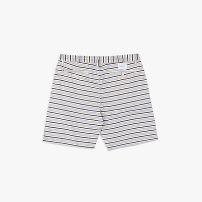 Galeas Short White Stripe