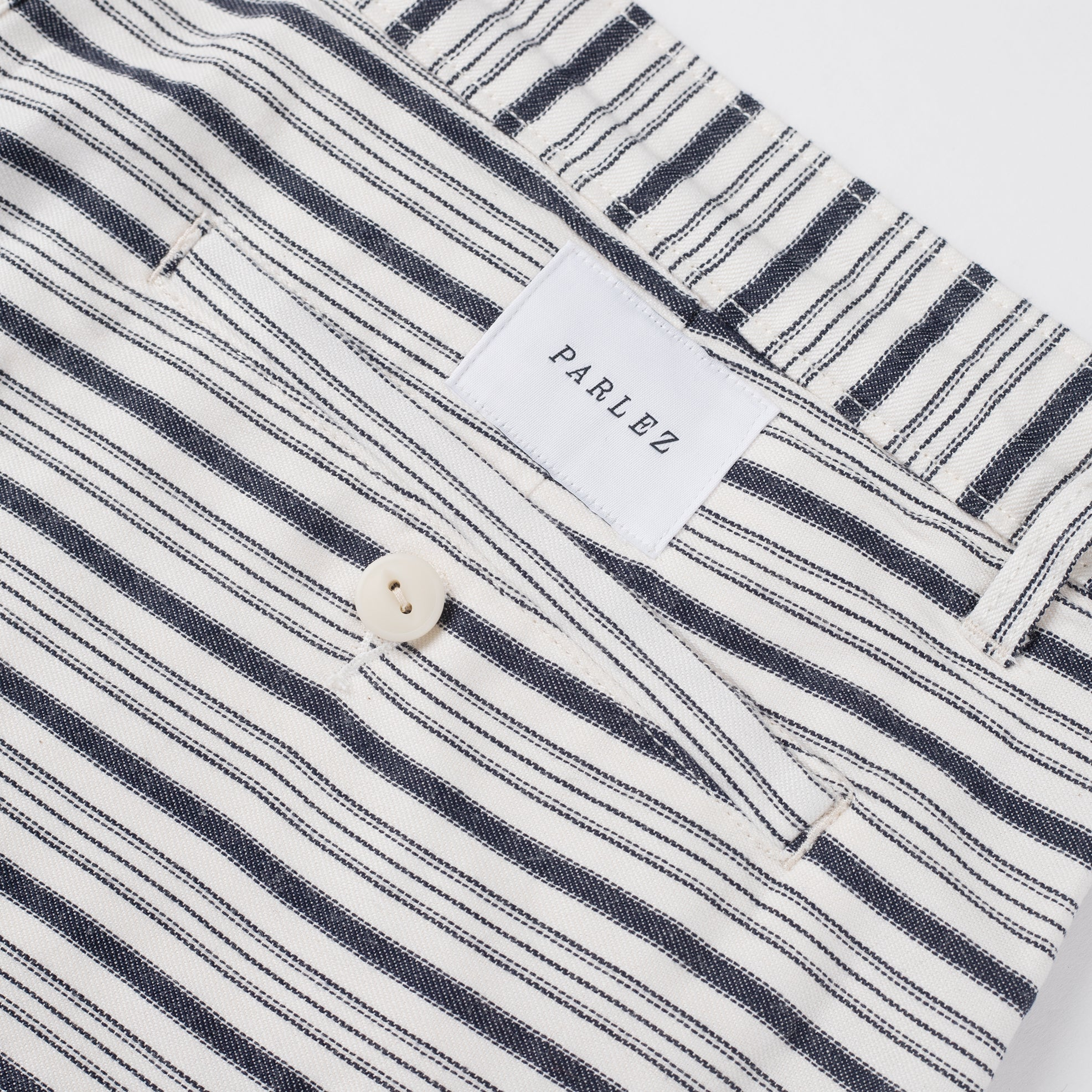 Parlez Galeas Short White Stripe