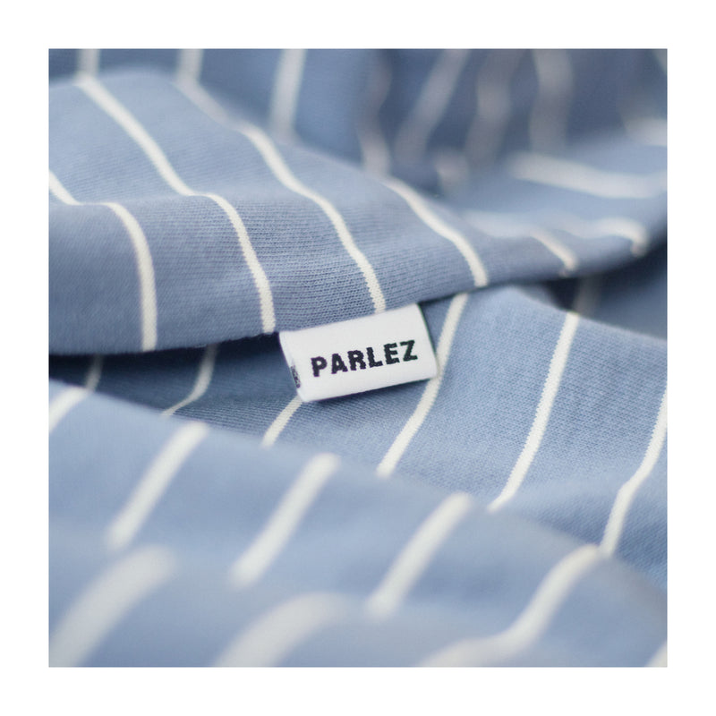 Ladsun Stripe T-Shirt Dusty Blue